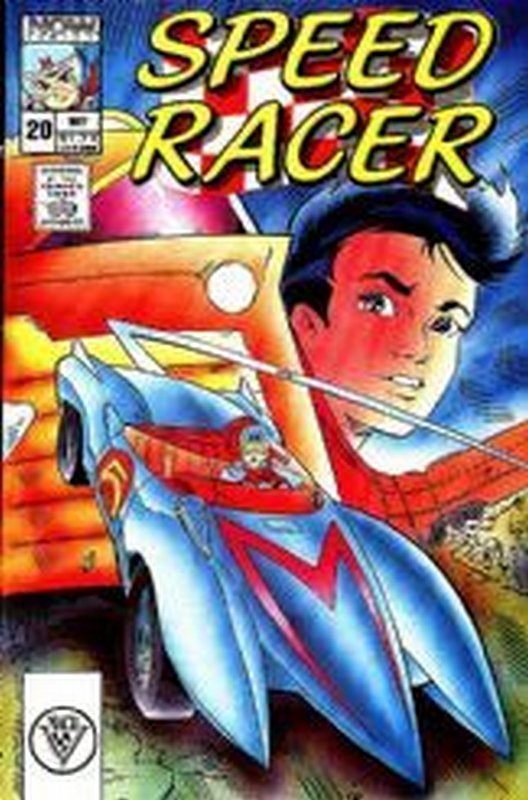 Cover of Speed Racer (Vol 1) #20. One of 250,000 Vintage American Comics on sale from Krypton!