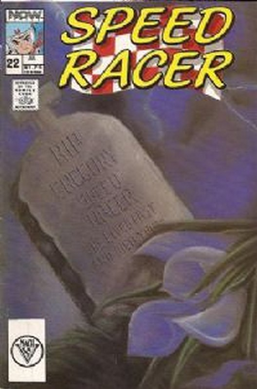 Cover of Speed Racer (Vol 1) #22. One of 250,000 Vintage American Comics on sale from Krypton!