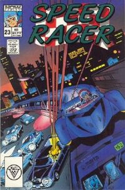 Cover of Speed Racer (Vol 1) #23. One of 250,000 Vintage American Comics on sale from Krypton!