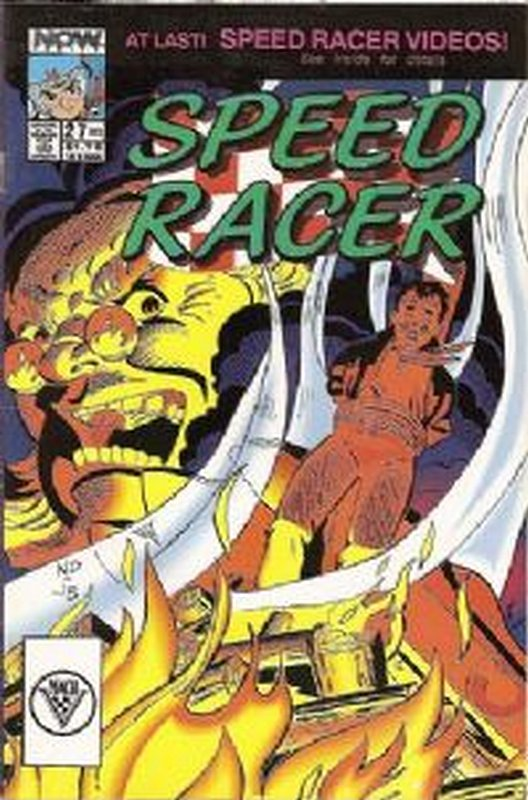 Cover of Speed Racer (Vol 1) #27. One of 250,000 Vintage American Comics on sale from Krypton!