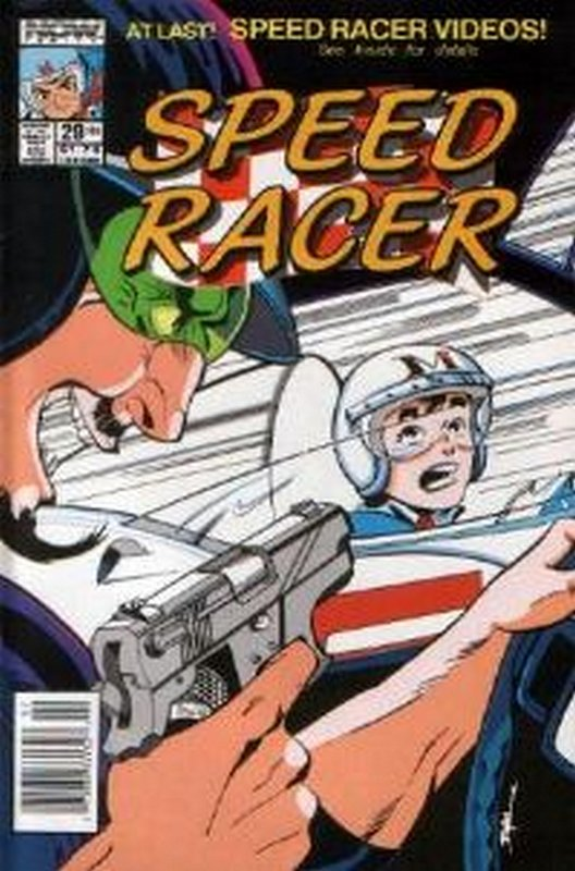 Cover of Speed Racer (Vol 1) #29. One of 250,000 Vintage American Comics on sale from Krypton!