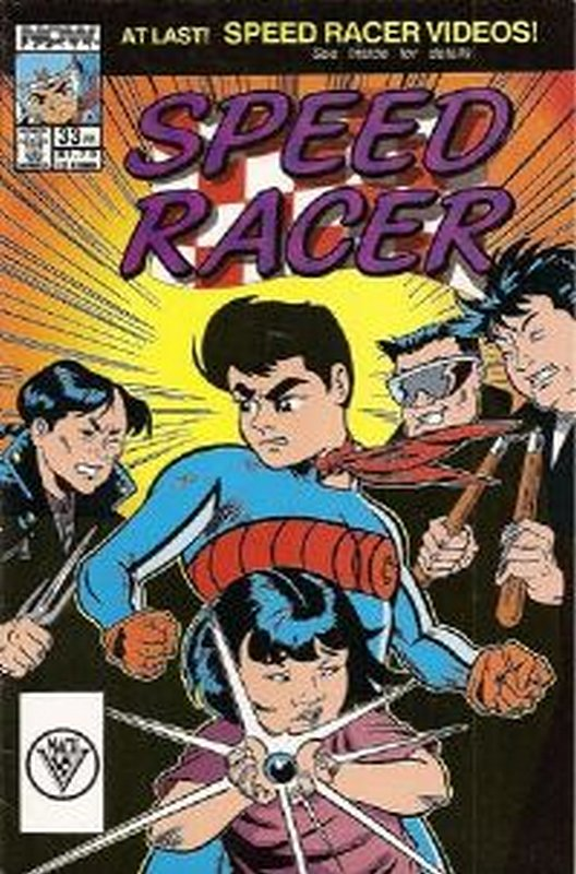 Cover of Speed Racer (Vol 1) #33. One of 250,000 Vintage American Comics on sale from Krypton!