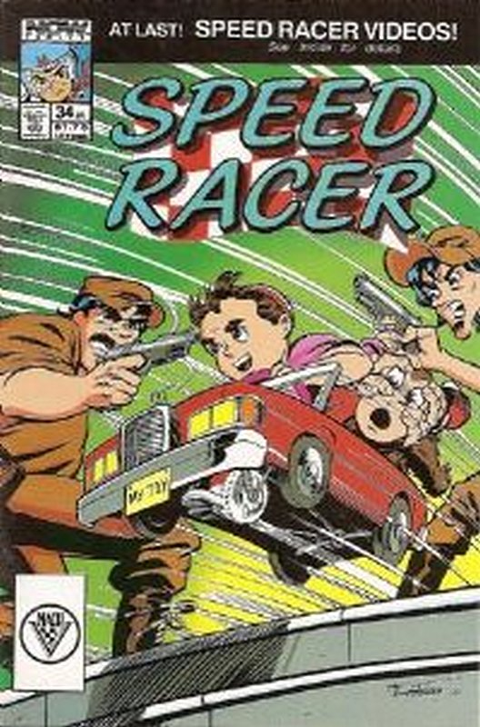 Cover of Speed Racer (Vol 1) #34. One of 250,000 Vintage American Comics on sale from Krypton!