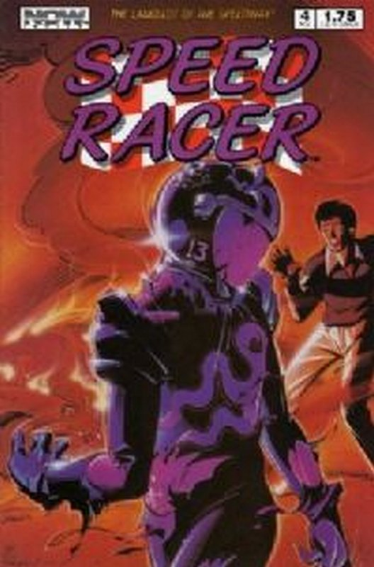 Cover of Speed Racer (Vol 1) #4. One of 250,000 Vintage American Comics on sale from Krypton!