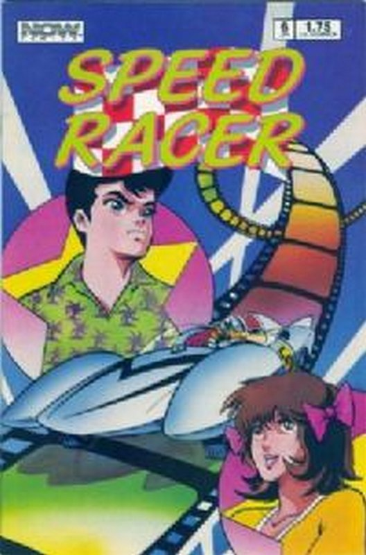 Cover of Speed Racer (Vol 1) #6. One of 250,000 Vintage American Comics on sale from Krypton!