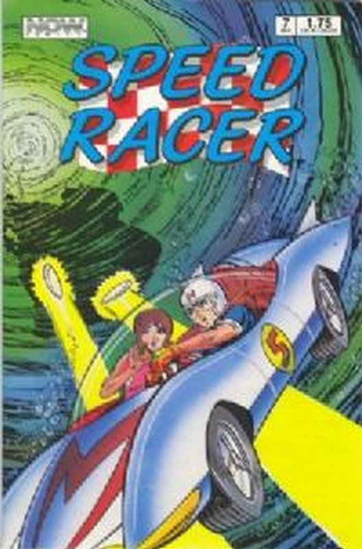 Cover of Speed Racer (Vol 1) #7. One of 250,000 Vintage American Comics on sale from Krypton!