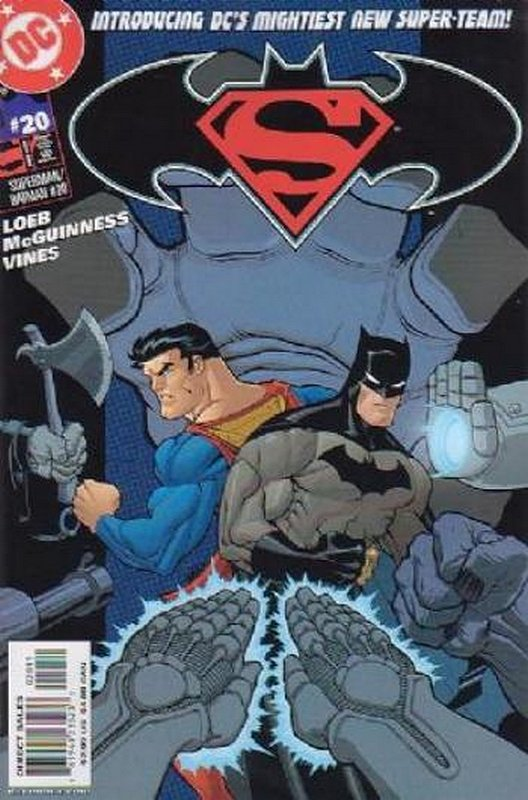 Cover of Superman/Batman (Vol 1) #20. One of 250,000 Vintage American Comics on sale from Krypton!