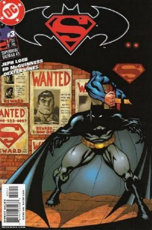 Cover of Superman/Batman (Vol 1) #3. One of 250,000 Vintage American Comics on sale from Krypton!