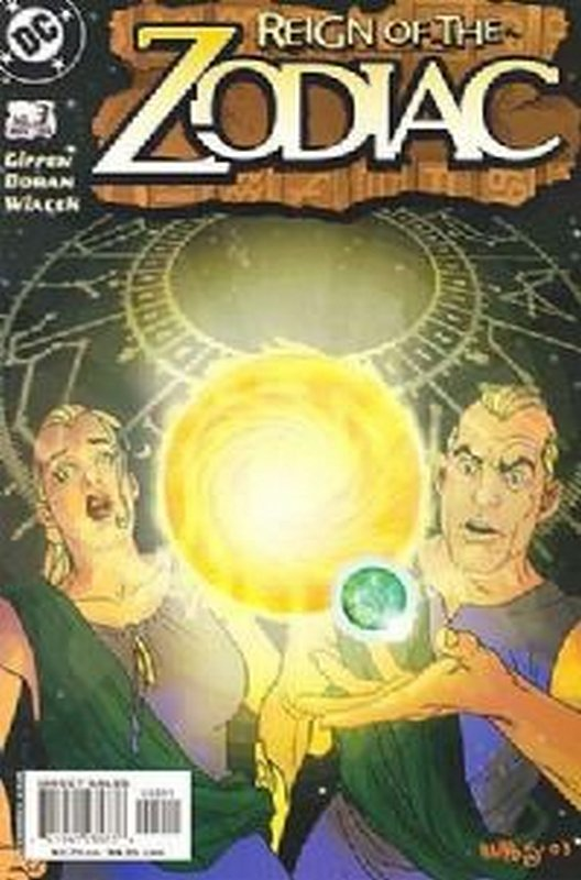 Cover of Reign of the Zodiac (Vol 1) #3. One of 250,000 Vintage American Comics on sale from Krypton!