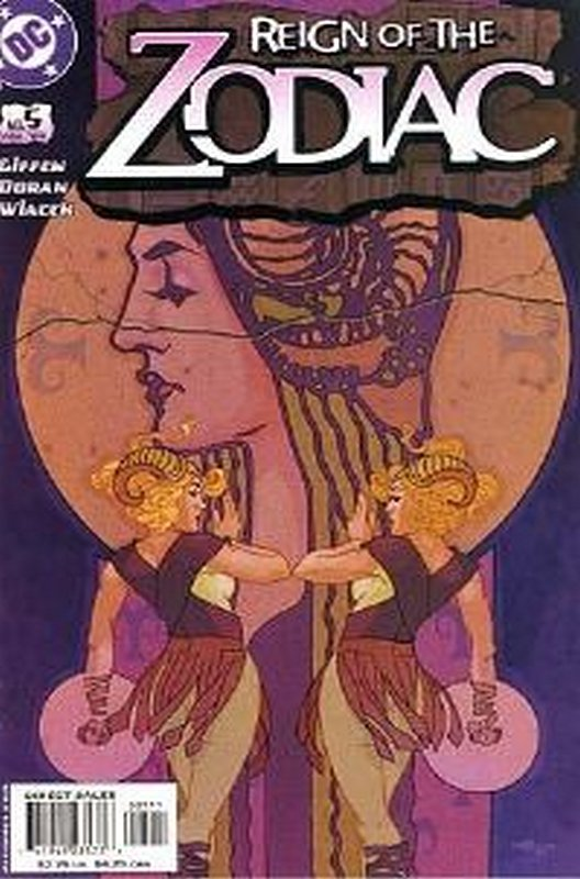 Cover of Reign of the Zodiac (Vol 1) #5. One of 250,000 Vintage American Comics on sale from Krypton!