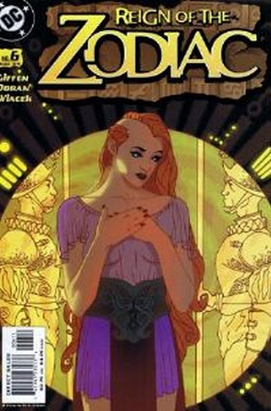 Cover of Reign of the Zodiac (Vol 1) #6. One of 250,000 Vintage American Comics on sale from Krypton!