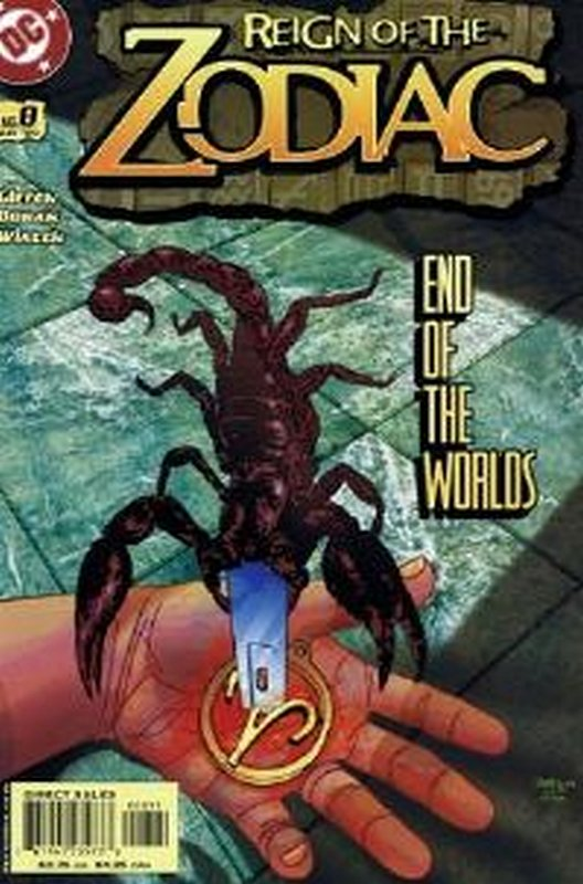 Cover of Reign of the Zodiac (Vol 1) #8. One of 250,000 Vintage American Comics on sale from Krypton!