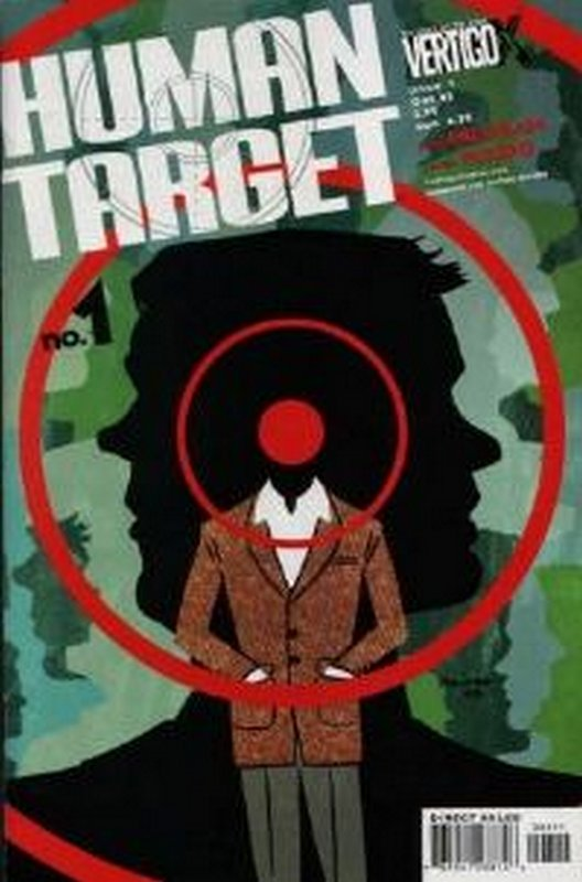 Cover of Human Target (Vol 1) #1. One of 250,000 Vintage American Comics on sale from Krypton!