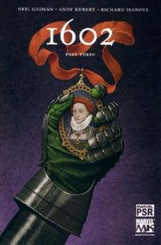 Cover of Marvel 1602 (2003 Ltd) #3. One of 250,000 Vintage American Comics on sale from Krypton!