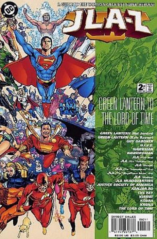 Cover of JLA-Z (2000 Ltd) #2. One of 250,000 Vintage American Comics on sale from Krypton!
