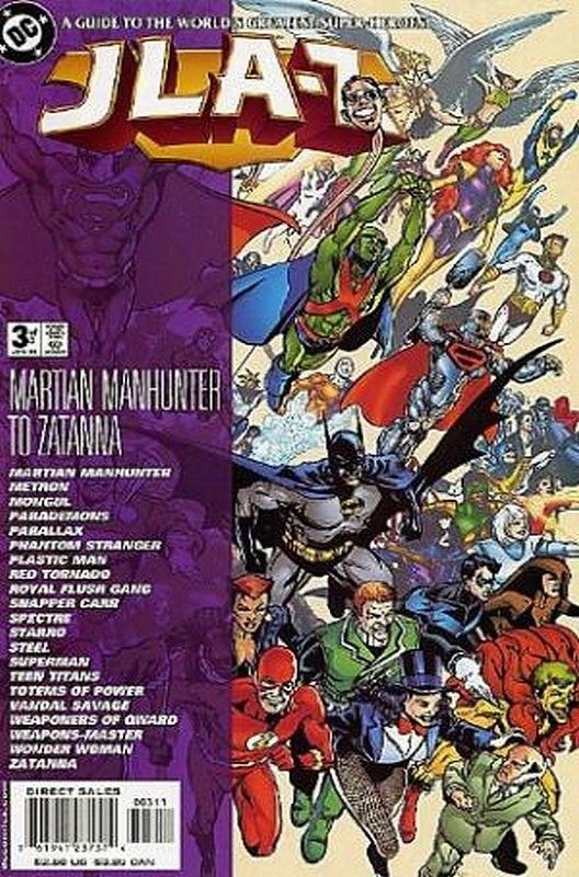 Cover of JLA-Z (2000 Ltd) #3. One of 250,000 Vintage American Comics on sale from Krypton!