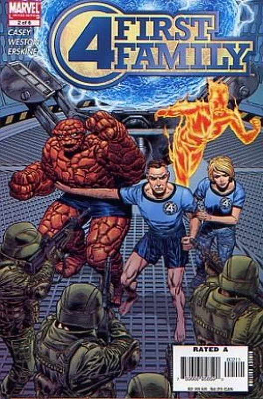 Cover of Fantastic Four: First Family (2006 Ltd) #2. One of 250,000 Vintage American Comics on sale from Krypton!