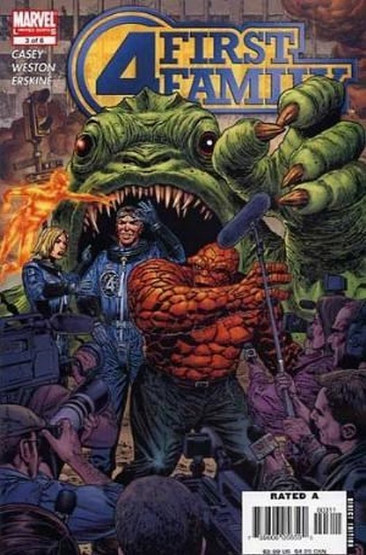 Cover of Fantastic Four: First Family (2006 Ltd) #3. One of 250,000 Vintage American Comics on sale from Krypton!