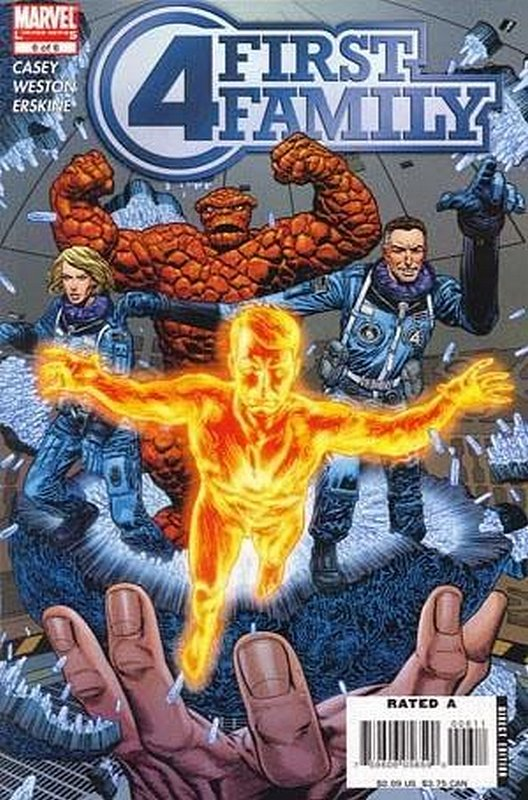Cover of Fantastic Four: First Family (2006 Ltd) #6. One of 250,000 Vintage American Comics on sale from Krypton!