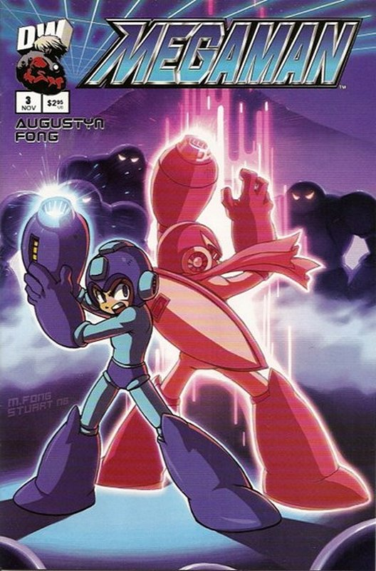 Cover of Megaman (2003 Ltd) (DW) #3. One of 250,000 Vintage American Comics on sale from Krypton!