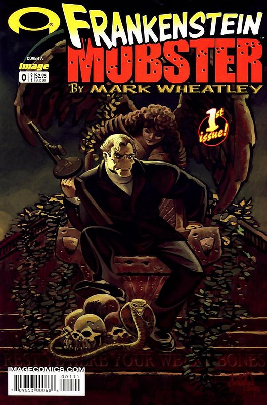 Cover of Frankenstein Mobster (2003 Ltd) #0. One of 250,000 Vintage American Comics on sale from Krypton!