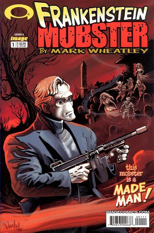 Cover of Frankenstein Mobster (2003 Ltd) #1. One of 250,000 Vintage American Comics on sale from Krypton!