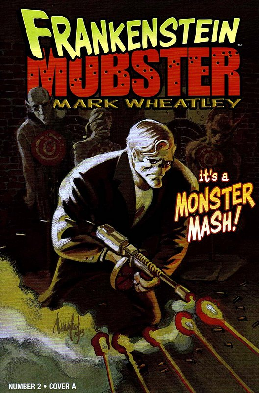 Cover of Frankenstein Mobster (2003 Ltd) #2. One of 250,000 Vintage American Comics on sale from Krypton!