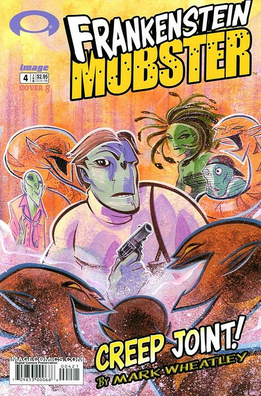 Cover of Frankenstein Mobster (2003 Ltd) #4. One of 250,000 Vintage American Comics on sale from Krypton!