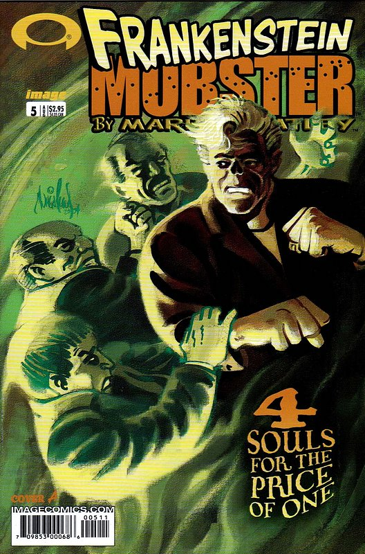 Cover of Frankenstein Mobster (2003 Ltd) #5. One of 250,000 Vintage American Comics on sale from Krypton!