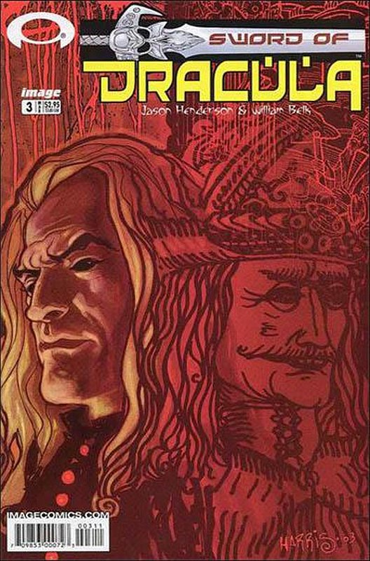 Cover of Sword of Dracula #3. One of 250,000 Vintage American Comics on sale from Krypton!