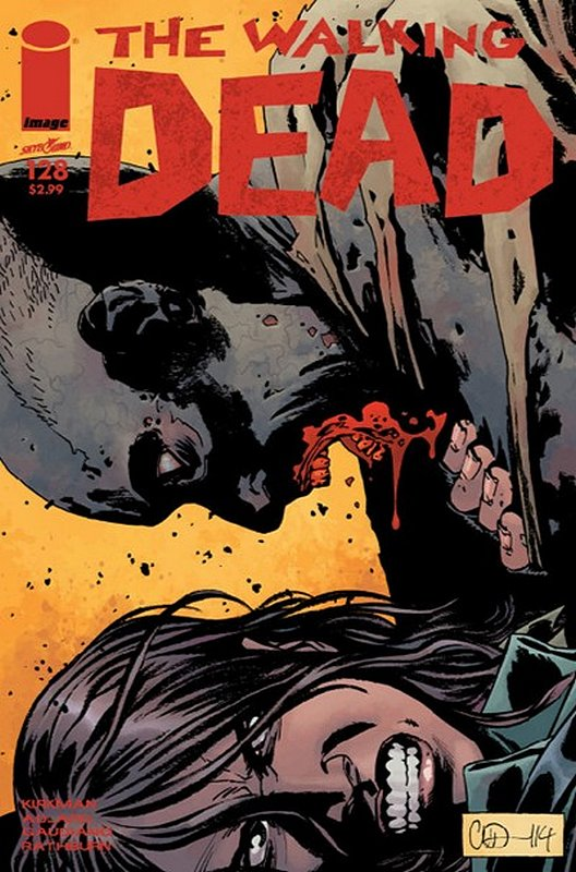 Cover of Walking Dead (Vol 1) #128. One of 250,000 Vintage American Comics on sale from Krypton!