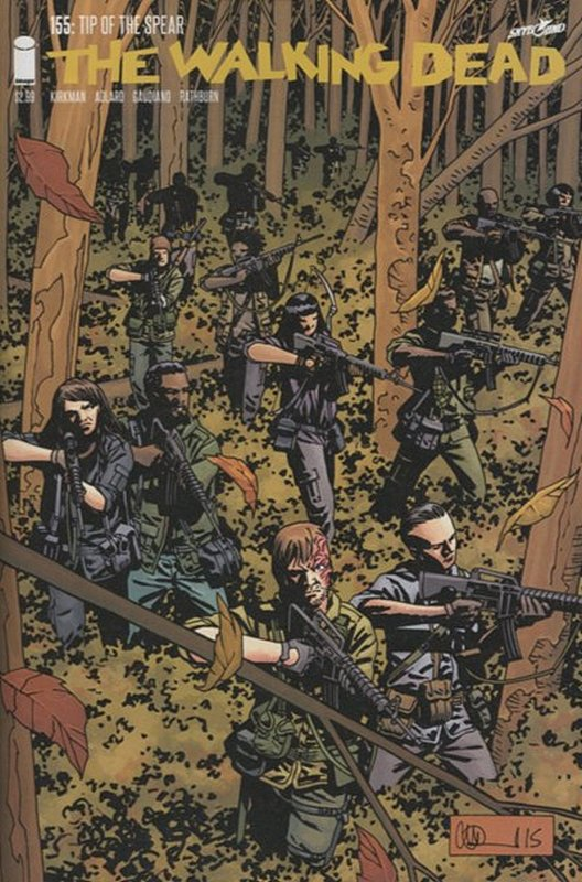 Cover of Walking Dead (Vol 1) #155. One of 250,000 Vintage American Comics on sale from Krypton!