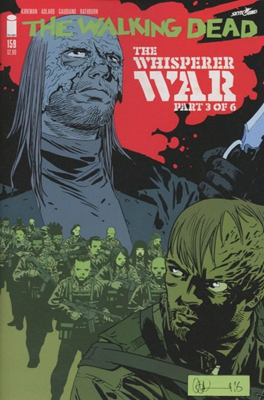 Cover of Walking Dead (Vol 1) #159. One of 250,000 Vintage American Comics on sale from Krypton!