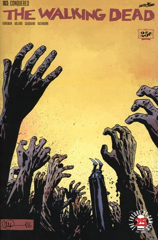 Cover of Walking Dead (Vol 1) #163. One of 250,000 Vintage American Comics on sale from Krypton!