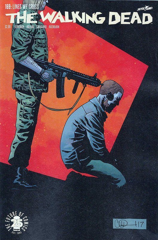 Cover of Walking Dead (Vol 1) #169. One of 250,000 Vintage American Comics on sale from Krypton!