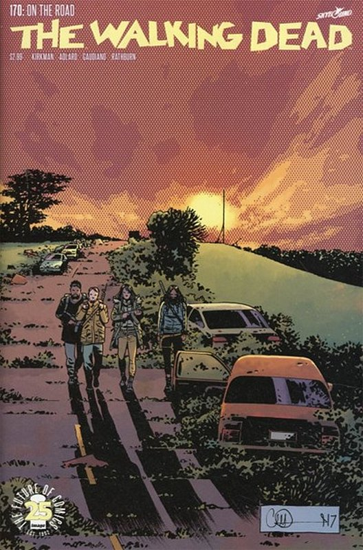 Cover of Walking Dead (Vol 1) #170. One of 250,000 Vintage American Comics on sale from Krypton!