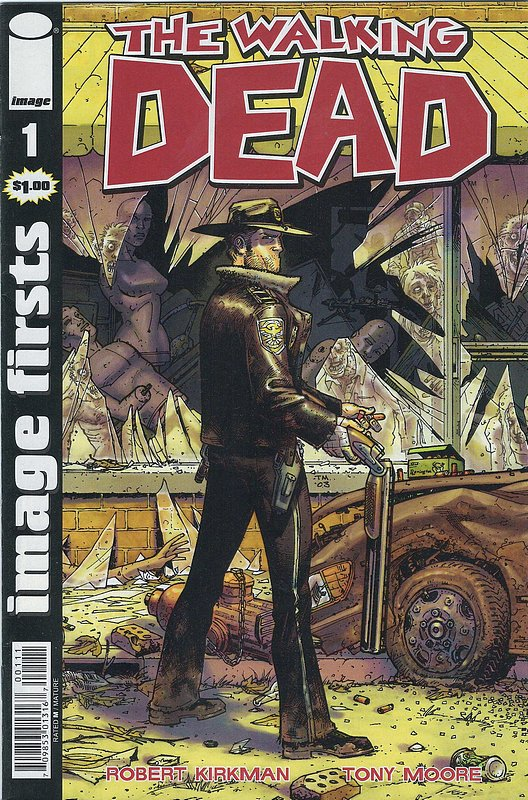Cover of Walking Dead (Vol 1) #1. One of 250,000 Vintage American Comics on sale from Krypton!