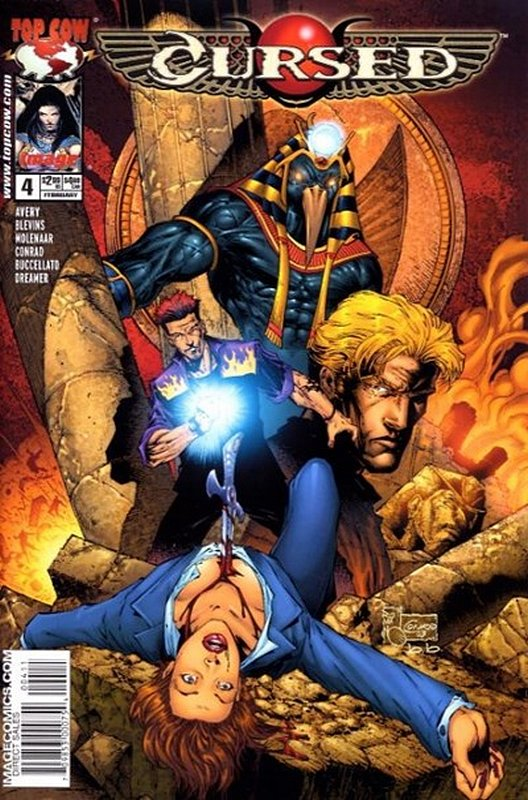 Cover of Cursed (2003 Ltd) #4. One of 250,000 Vintage American Comics on sale from Krypton!