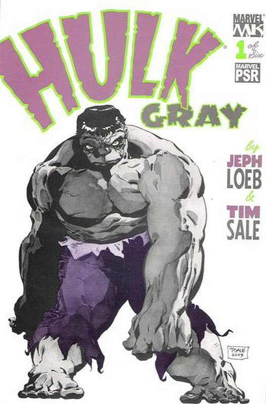 Cover of Hulk Gray (2004 Ltd) #1. One of 250,000 Vintage American Comics on sale from Krypton!