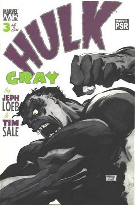 Cover of Hulk Gray (2004 Ltd) #3. One of 250,000 Vintage American Comics on sale from Krypton!
