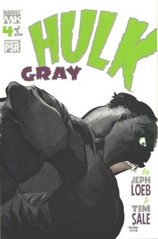 Cover of Hulk Gray (2004 Ltd) #4. One of 250,000 Vintage American Comics on sale from Krypton!