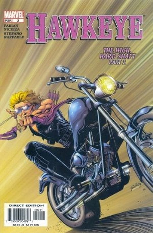 Cover of Hawkeye (Vol 1) #2. One of 250,000 Vintage American Comics on sale from Krypton!