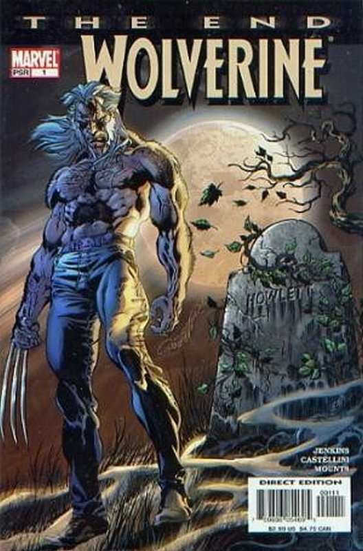 Cover of Wolverine: The End (2000 Ltd) #1. One of 250,000 Vintage American Comics on sale from Krypton!