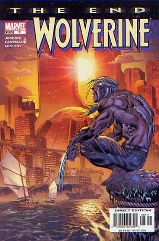Cover of Wolverine: The End (2000 Ltd) #2. One of 250,000 Vintage American Comics on sale from Krypton!