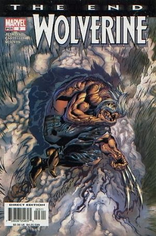 Cover of Wolverine: The End (2000 Ltd) #3. One of 250,000 Vintage American Comics on sale from Krypton!