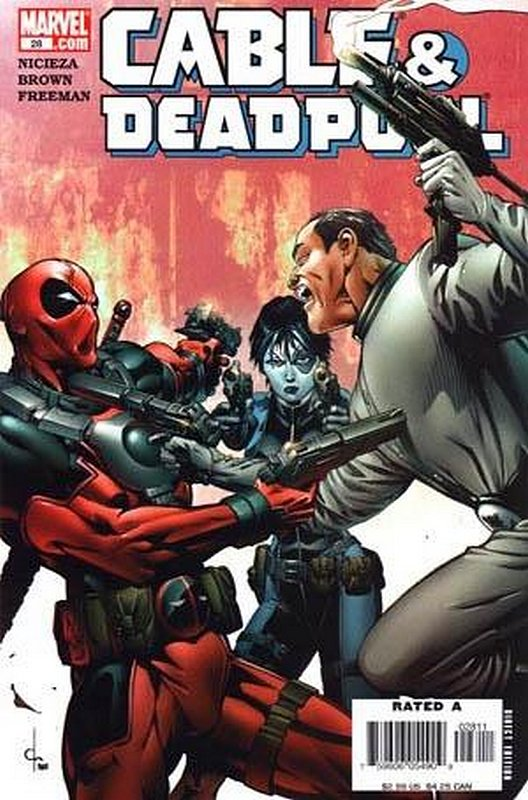 Cover of Cable & Deadpool #28. One of 250,000 Vintage American Comics on sale from Krypton!