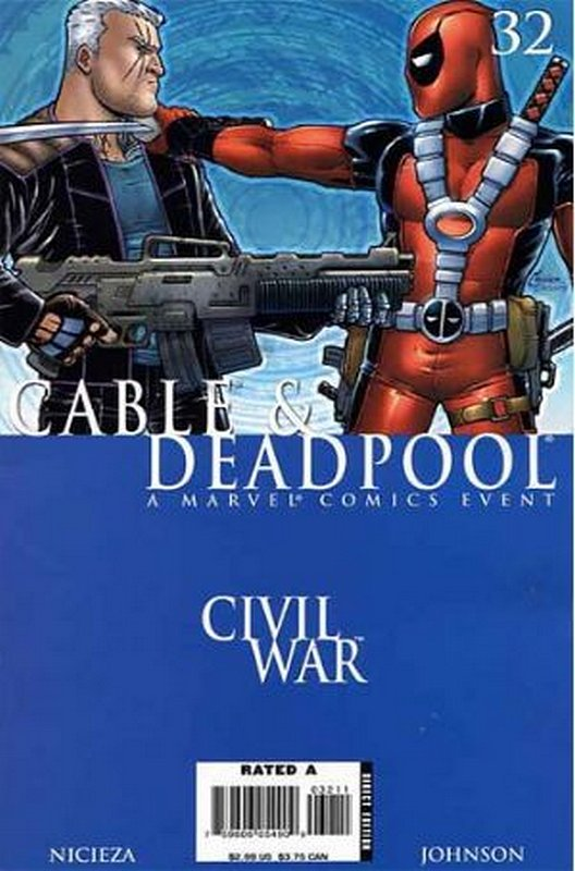 Cover of Cable & Deadpool #32. One of 250,000 Vintage American Comics on sale from Krypton!
