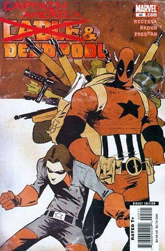 Cover of Cable & Deadpool #45. One of 250,000 Vintage American Comics on sale from Krypton!