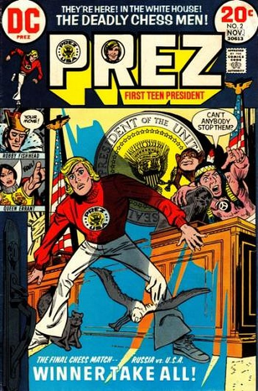 Cover of Prez (Vol 1) #2. One of 250,000 Vintage American Comics on sale from Krypton!