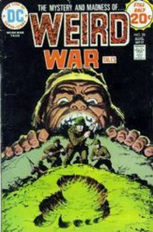 Cover of Weird War Tales  (Vol 1) #28. One of 250,000 Vintage American Comics on sale from Krypton!